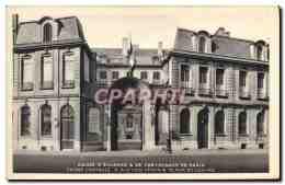 CPA Paris Caisse D&#39Epargne Et De Prevoyance Rue Coq Herin Et Rue Du Louvre - Altri Monumenti, Edifici
