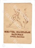 28728 PAGELLA SCOLASTICA SCUOLA 1933 VERCELLI ROBELLA TRINO ARTI GRAFICHE PANETTO PETRELLI SPOLETO SCHOOL REPORT CARD - Diplomi E Pagelle