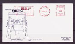 ESPACE - 1985/10 - Programme Ariane :  Campagne De Réception De La Baie De Propulsion Ariane - SEP - 3 Documents - FDC & Commemoratives