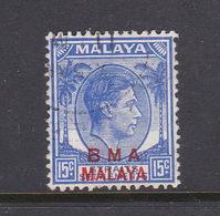 Malaya B.M.A  SG 11 1945 British Military Administration,1cc Bright Ultramarine,used - Malaya (British Military Administration)