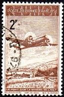 Réunion Obl. N° PA 12 - Avion Survolant Le Pont De L'Est 2f - Reunion Island (1852-1975)