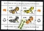 2012 BUTTERFLIES( Papillons )  S/S – MNH (total Print 2100 Pieces) BULGARIA / Bulgarie - Bulgarije
