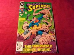SUPERMAN  THE MAN OF STEEL  No 17   NOV 92 - DC