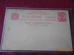 Carte Entier Postal Du Siam - Siam
