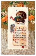 Thanksgiving , Poem, Bired, Oranges - Thanksgiving