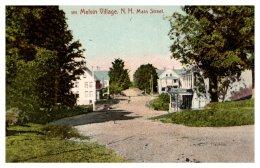 New Hampshire  Melvin Village , Main Street - Etats-Unis