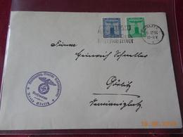 Lettre De 1938 D Allemagne - Deutschland