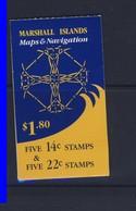 Marshall Islands  1984-85  : CARNET CARTES ET NAVIGATION SC N°42b NEUF MNH** - Islas Marshall