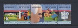 MICRONESIE  1990 ECOLE D'AGRICULTURE YVERT N°141/45  NEUF MNH** - Micronésie