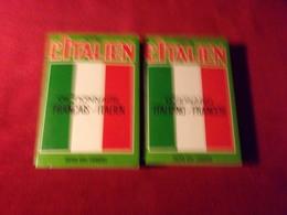 TRADUCTEUR  ITALIEN   FRANCAIS  ET FRANCAIS  ITALIEN    ATLAS 2 VOLUMES - Voyages