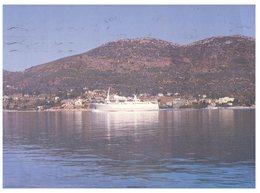 (ORL 339) Greece - Samos Port And Cruise Ship - Steamers