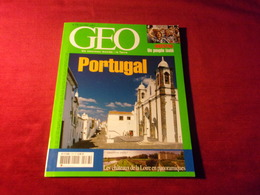 MAGAZINE GEO  No 278  AVRIL 2002   PORTUGAL - Tourism & Regions