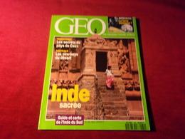 MAGAZINE GEO  No 169  MARS 1993  INDE SACREE - Tourism & Regions
