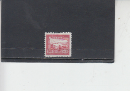 CINA ORIENTALE  1949 - Yvert 14 - Treno - Western-China 1949-50