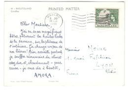 6387 - Pub AMORA - Basutoland (1933-1966)