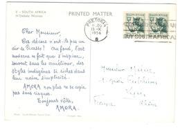 6388 - Pub AMORA - Afrique Du Sud (...-1961)
