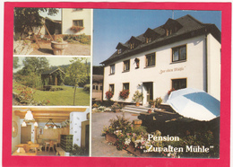 Modern Multi View Post Card Of Pension Zur Alten Muhle,Staffelstein,B40. - Postcards