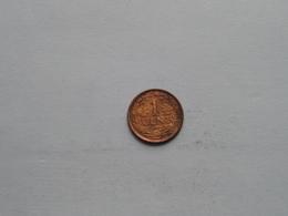 1918 - 1 Cent / KM 152 ( Uncleaned Coin - For Grade, Please See Photo ) ! - [ 3] 1815-…: Königreich Der Niederlande