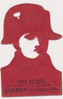 Carte Silhouette - Napoleon - Nuit Et Jour, Modele Depose,  Template For Drawing Silhouettes, Old Card - Silhouettes