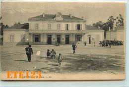 AJACCIO - Corse - La Gare - Chemin De Fer - Corse - Ajaccio