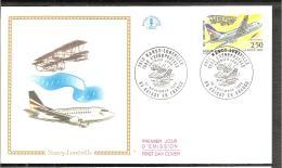 FDC 1992   NANCY- LUNEVILLE - 1990-1999