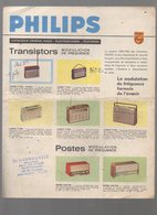 (TSF)   Catalogue (couleur) PHILIPS Transistors  (PPP9114) - Advertising