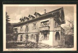 AK Baden-Baden, Pension Jäger, Schweizerhaus - Baden-Baden