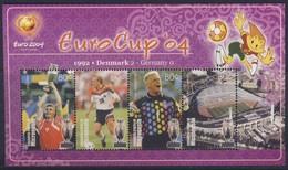MICRONESIE  2004 EURO 2004  YVERT  N°1291/94 NEUF MNH** - UEFA European Championship