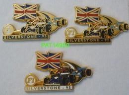 F1  SILVERSTONE 95 1995 LOT De 3 PINS DIFFERENTS - F1