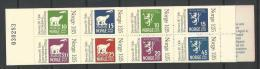 Norvège 1978 Carnet N° C731 Neuf** Expo Philatélique Norwex 80 - Carnets