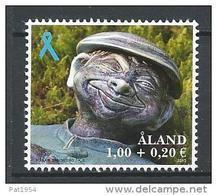Aland 2013 N°383 Neuf  Ruban Bleu Avec Surtaxe - Aland