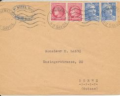 France Cover Sent To Switzerland Annemasse 11-7-1947 - Frankreich