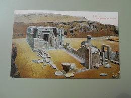 EGYPTE EDFOU VUE GENERALE DES TEMPLES - Idfu