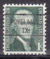 USA Precancel Vorausentwertung Preo, Locals Texas, Pineland 841 - Vereinigte Staaten