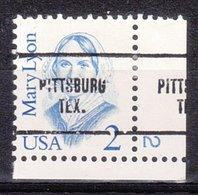 USA Precancel Vorausentwertung Preo, Locals Texas, Pittsburg 704, Plate # 2 - Vereinigte Staaten
