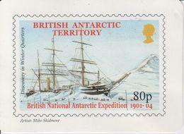 British Antarctic Territory 2002 Calender Card (40133) - Andere
