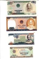 Lot 4 Banconote Vietnam - Vietnam