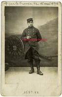 Carte Photo Guerre 1914-soldat Du 167e RI Mort Pour La Francce Le 16 Mai 1916 - Krieg, Militär