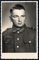 B5975 - Foto - Porträt - Hübscher Junger Mann In Uniform - 2. WK WW - Fotografie
