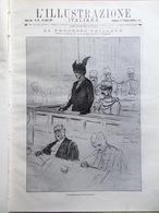 L'illustrazione Italiana 26 Luglio 1914 WW1 Caillaux Trastevere Ulster Lorenzoni - Guerre 1914-18