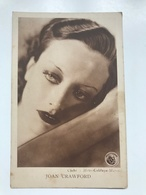 Carte Postale Ancienne  JOAN CRAWFORD  Cliché : Metro-Goldwyn – Mayer Edition S.A. Cacao Et Chocolat Kivou Vilvorde - Artistes