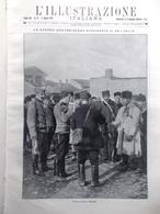 L'illustrazione Italiana 2 Agosto 1914 WW1 Guerra Austria Serbia Esercito Arezzo - Guerra 1914-18