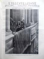 L'illustrazione Italiana 9 Agosto 1914 WW1 Europa Belgio Germania Russia Parigi - Guerra 1914-18