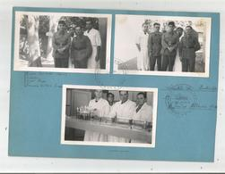 DAMAS SYRIE 1940 (6 PHOTOS D'UN ALBUM) AVEC MILITAIRES FRANCAIS (CACHET LABORATOIRE BACTERIOLOGIQUE HOPITAL DE DAMAS) DA - Guerre, Militaire