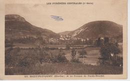 CPA Saint-Pé-d'Ardet - Les Falaises Du Pas-du-Bouchet - France