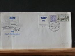 78/555A  LETTRE BELGE VIGNETTE - Autos