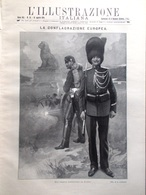 L'illustrazione Italiana 16 Agosto 1914 WW1 Liegi Inghilterra Edward Grey Belgio - Guerra 1914-18