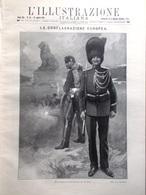 L'illustrazione Italiana 16 Agosto 1914 WW1 Liegi Inghilterra Edward Grey Belgio - Guerre 1914-18
