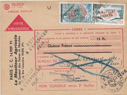 RETOUR ENVOYEUR 4938 SAVIGNY EN SEPTAINE CHER 1965 - Postmark Collection (Covers)