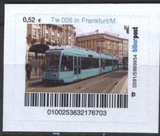 Biber Post Tw 026 In Frankfurt / Main (Tram) (52)  G472 - BRD